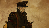 Steampunk Captain - Mixed Media Character Concept Image